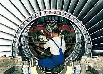 Alinhamentos de turbinas
