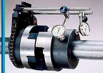 Maquina de alinhamento a laser
