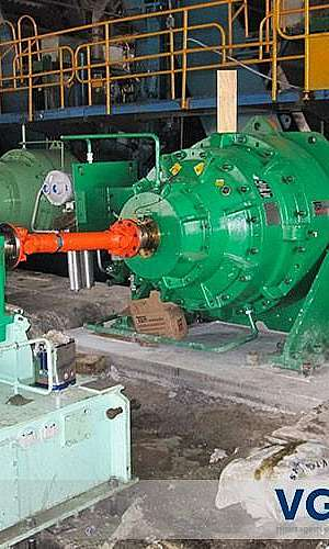 Alinhamento de turbinas