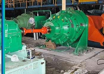 Alinhamento de turbinas valor