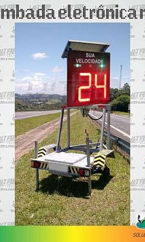 Indicador eletrônico de Velocidade