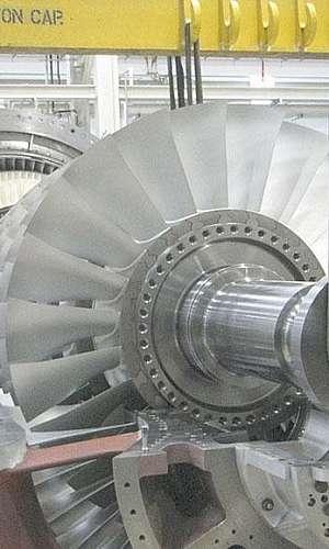Manutenção de turbinas a vapor
