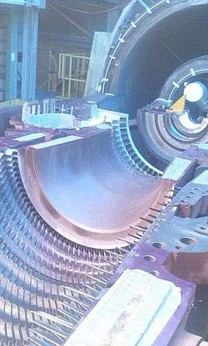 Manutenção em turbomáquinas