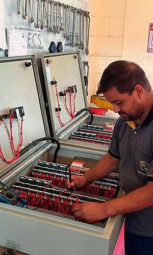 Manutenção preditiva em painéis elétricos