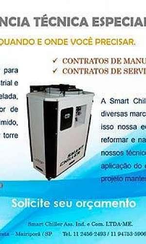 Manutenção preventiva em chiller