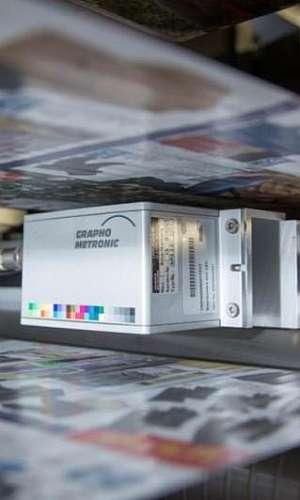 Máquina impressora rotativa para jornal