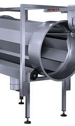 Máquina temperador rotativo