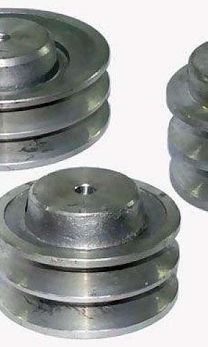 Polia de alumínio